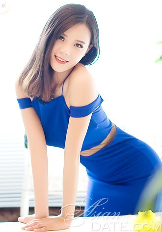 A Chinese lady is the second on our babes in blue list.